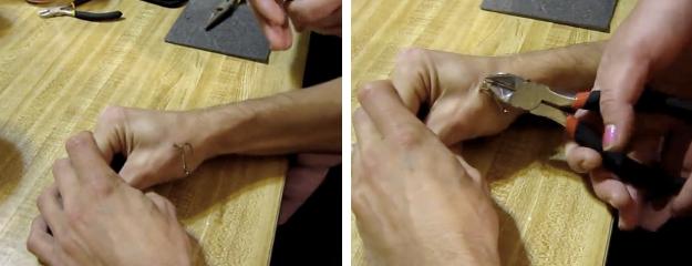 Cómo quitar un anzuelo clavado en la mano