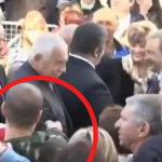 Un hombre dispara con una pistola de bolas al presidente checo Vaclav Klaus y sus guardespaldas no se enteran