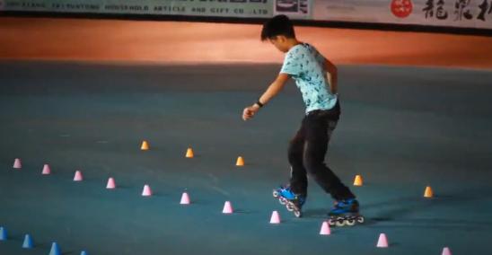 Desde China, Zhang Hao nos demuestra su habilidad en Freestyle Classic Slalom