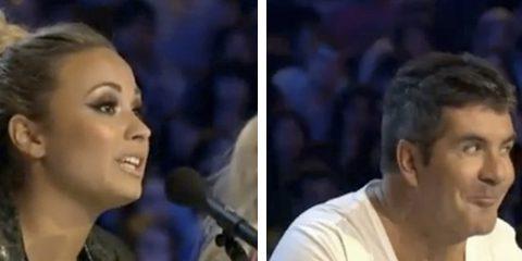 Owned a Demi Lovato en el programa X Factor