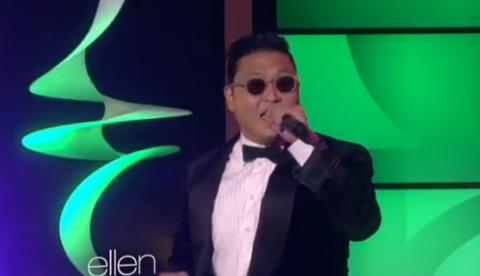 PSY canta el ''Gangnam Style'' en The Ellen DeGeneres Show