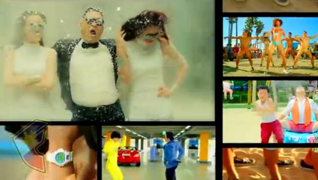 PSY vs LMFAO vs David Guetta = Sexy Style