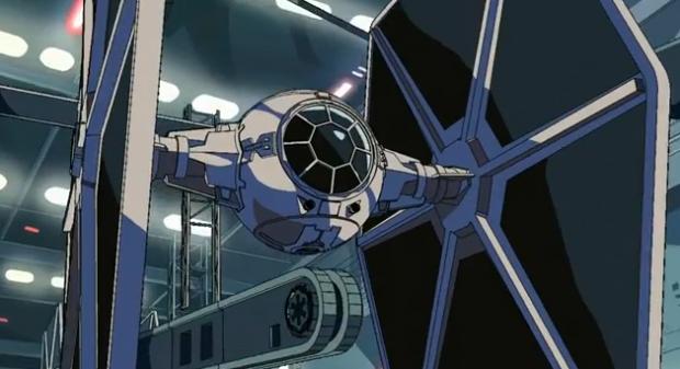 Impresionante anime amateur de Star Wars