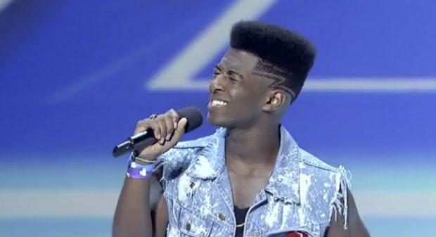Willie Jones sorprende al jurado de X Factor USA cantando ''Your Man'' de Josh Turner