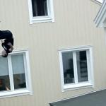 El freerunner sueco Robert Stafsing sufre un brutal accidente mientras que hacía parkour