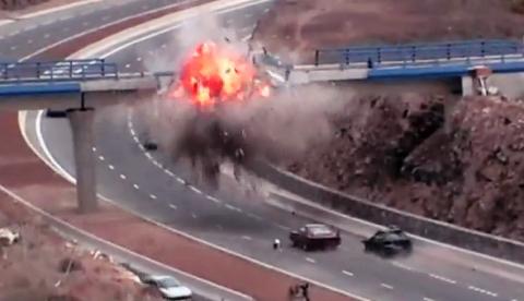 ''A Todo Gas 6'' hace explotar un puente en Tenerife