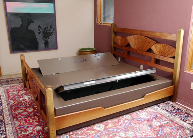 Con Bed Bunker ya podrás guardar tu dinero debajo del colchón con total seguridad