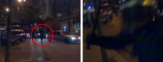 Brutalidad policial en Vigo por grabar con un móvil en la calle