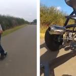 El carrito de bebé más rápido del mundo