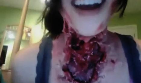 Halloween: Disfraz de cuello desgarrado