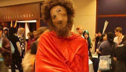 El Ecce Homo de Borja triunfa en Estados Unidos como disfraz para Halloween