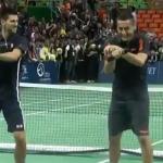 Djokovic y Almagro bailan el Gangnam Style de PSY