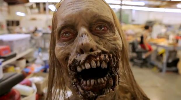 Visita al estudio de efectos especiales donde se crean los zombies de The Walking Dead