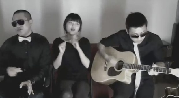Gangnam Style de PSY en versión acústica