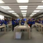 Lamentable inauguración de una Apple Store en Zaragoza