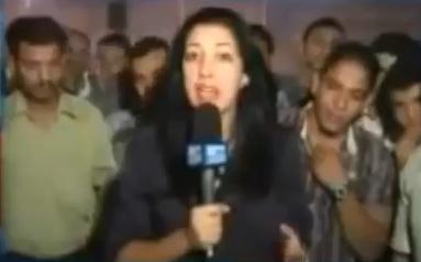 Intento de violación a la reportera francesa Sonia Dridi en El Cairo en directo en TV