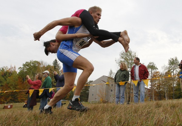 North American Wife Carrying Championship 2012