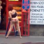 Una mujer decide seducir al panadero por la mañana temprano después de una noche de borrachera