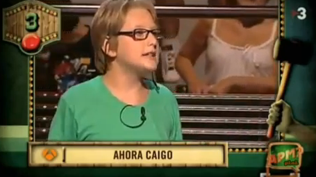 El niño que se puso a rapear en el programa ''Ahora caigo''