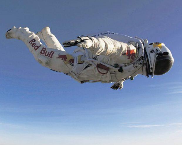 Vídeo del salto de prueba de Felix Baumgartner a 29.610 metros de altura