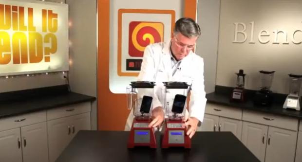 iPhone 5 o Galaxy S III. ¿Cuál será mas fácil de triturar?