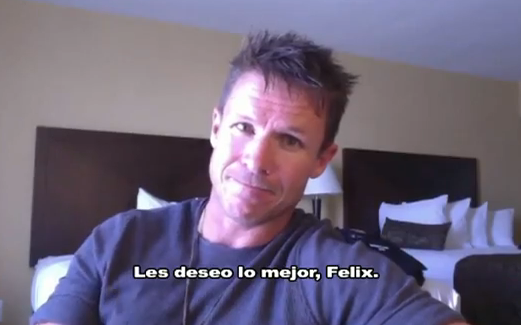 El último mensaje de Felix Baumgartner antes de la misión Red Bull Stratos
