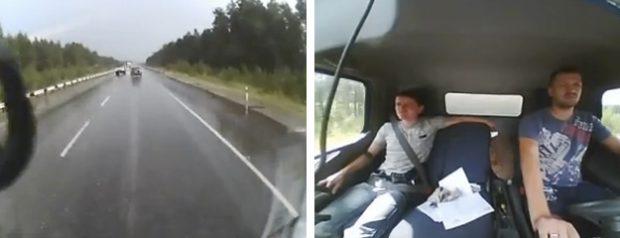 Para la próxima ya verás como se pone el cinturón de seguridad