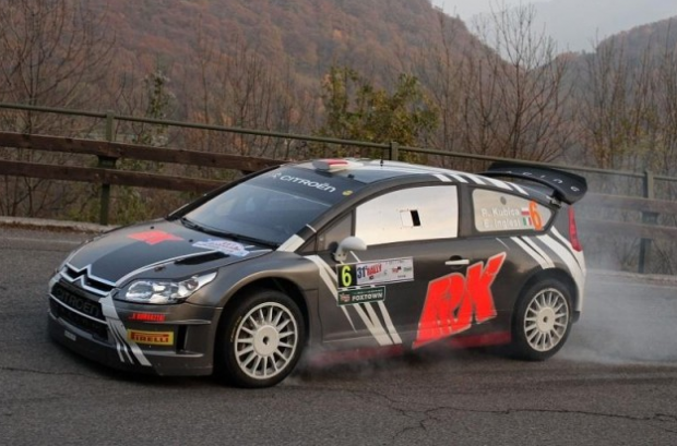 Impresionante pasada de Robert Kubica en el Rally di Como