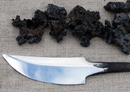 Cómo conseguir hierro y fabricarte un cuchillo