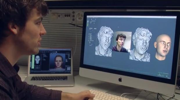 Faceshift permite que un Avatar reproduzca tus emociones en tiempo real