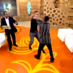 Fuerte pelea en un programa de la televisión rusa