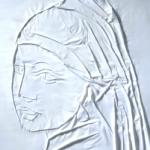 Pinturas famosas recreadas con una sábana y una plancha