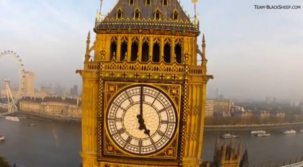 Impresionante vuelo FPV (Vista en primera persona) por Londres
