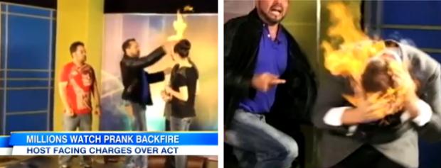 El mago Wayne Houchin gravemente herido tras quemarse durante un truco en televisión