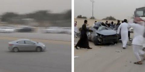 Derrape mortal con un Hyundai Elantra en Arabia Saudita