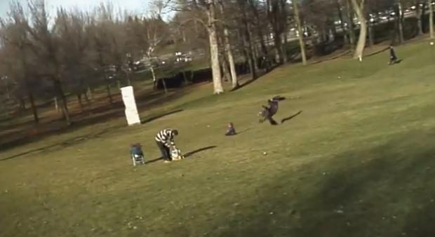 Unos estudiantes fueron los que hicieron el vídeo del águila llevándose al bebé