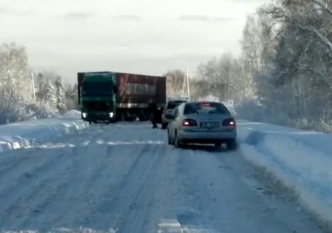 La nieve no parece ser un problema para este Audi