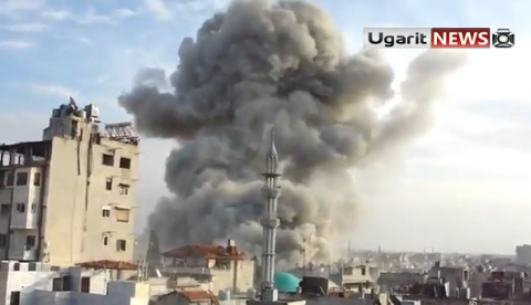 Esto es lo que se siente cuando un avión deja caer una bomba en tu ciudad