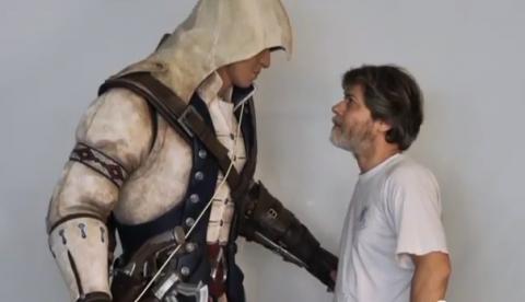 Así crearon la estatua a tamaño real de Connor de Assassin's Creed 3