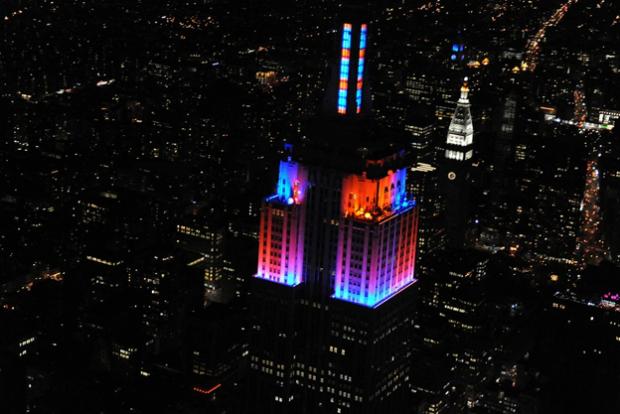 El Empire State Building estrena luces al ritmo de Alicia Keys