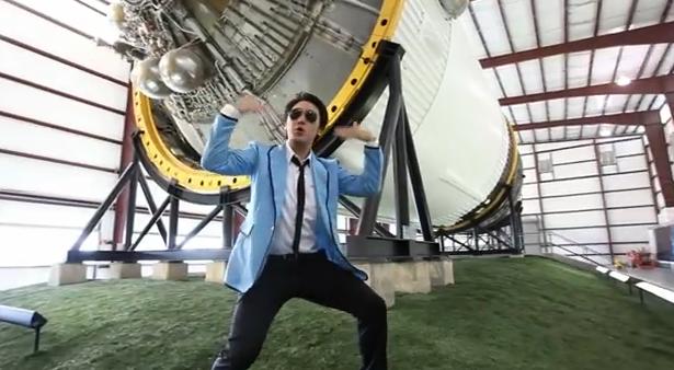 La NASA hace su propia parodia del Gangnam Style