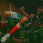 Un ladrón cae encima de una valla y se queda clavado en las lanzas de acero
