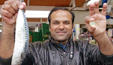 One Pound Fish, el rap de un pescadero de Londres que arrasa en la red