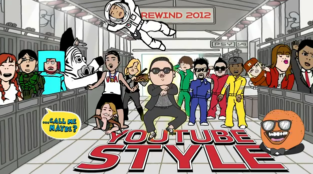 Youtube Rewind 2012