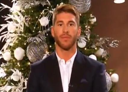 Sergio Ramos felicita la Navidad en... ¿inglés?