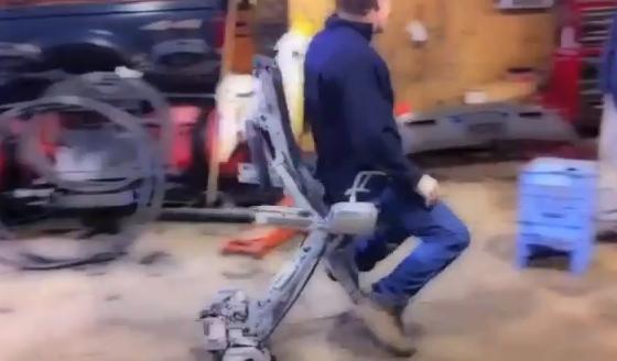 La silla definitiva para los mecánicos