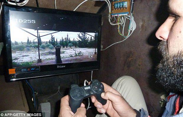 tanque controlado con mando playstation