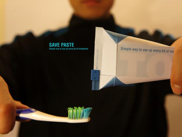 Una posible mejora para el tubo de pasta de dientes
