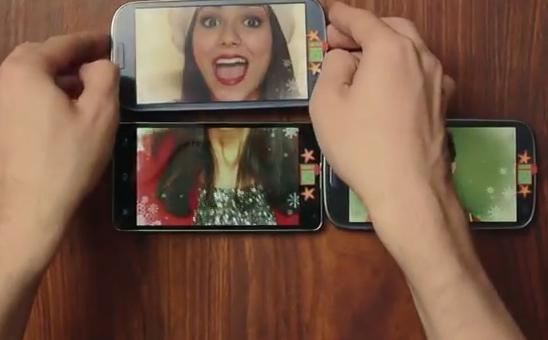 Impresionante videoclip navideño hecho con smartphones