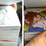 Flipbook de Dragon Ball Z: Bardock vs Freezer